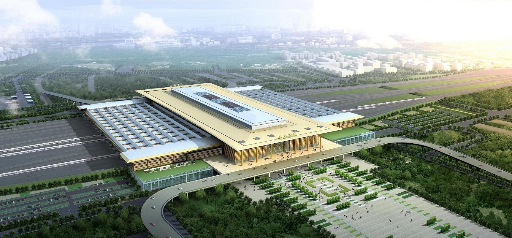 南京南新火车站