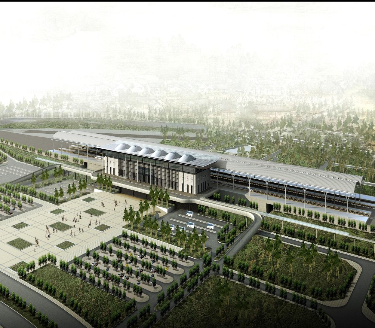 """台州""""新火车站"""""""