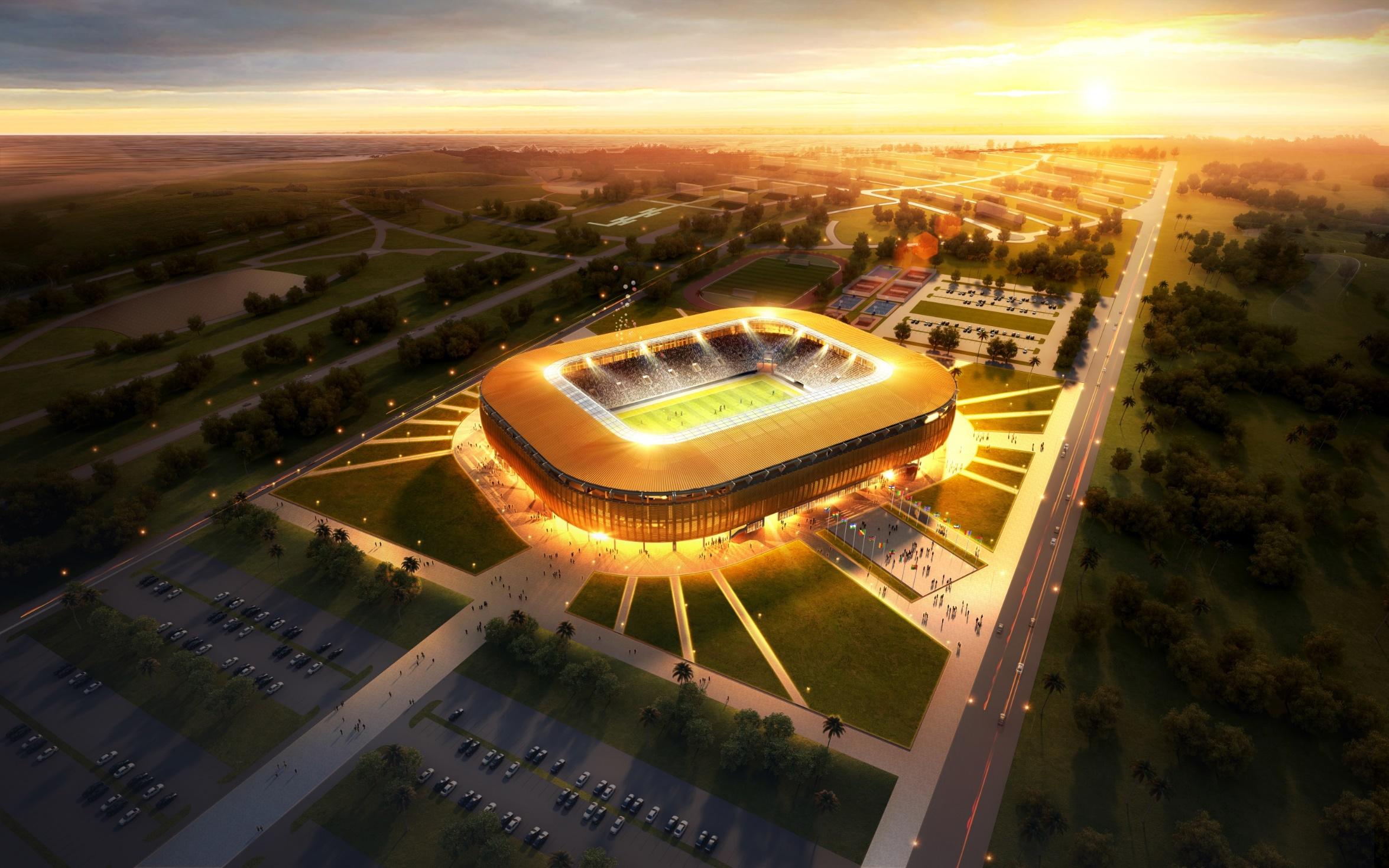加蓬 让蒂尔港体育场