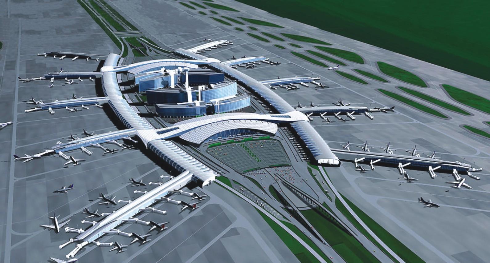广州新白云国际机场货运大楼